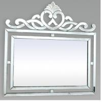 Buy cheap Wall Decor Square Venetian Mirror , Silver Framed Bathroom Wall Mirrors from wholesalers