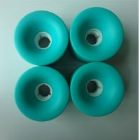 Buy cheap Penny Long Board Wheels ,  Color Roller Skate Wheels Red / Yellow / Black / Customized from wholesalers