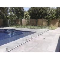 Buy cheap 316 Anti-Rust Stainless Steel Spigots Frameless Swimming Pool Glass Railing from wholesalers