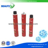 Buy cheap Colorful Collapsible aluminum Tube for Professional Hair color cream with 25mm Dia. cap from wholesalers