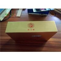 Buy cheap Gloden Face Finishing Embossing Paper Packing Box For Candy SGS from wholesalers