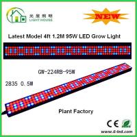 Buy cheap 1200mm Hydroponic Led Grow Light 1200mm For Greenhouse , Energy Saving product