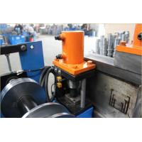 Buy cheap Channels Cold Roll Forming Machine Portable Solar Panel Machinery from wholesalers