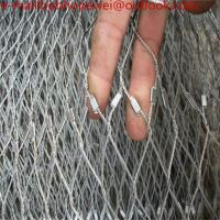 China ss 316 aviary bird zoo mesh/stainless steel wire rope mesh /stainless steel wire rope fence mesh on sale