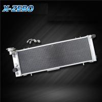 China 91-2001Jeep Aluminum Radiator Jeep Cherokee Comanche Limited L4 L6 AT MT 2 Row on sale