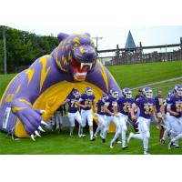 Buy cheap Purple Inflatable Sports Games Football Tunnel For Event / Advertisement from wholesalers