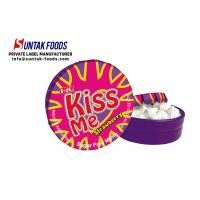 Buy cheap Different Color Healthy Xylitol Low Calorie Candy , Mentos Sugar Free Mints from wholesalers