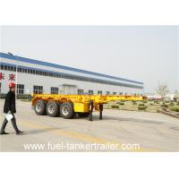 Buy cheap Professional 40ft Container Trailer Chassis , shipping container chassis from wholesalers