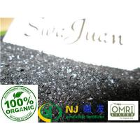 Buy cheap NJ organic fertilizer |super potassium humate  black flakes |special for drip irrigation equipment from wholesalers