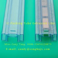 Buy cheap plastic extrusion line for PVC profile IC packing tube from wholesalers