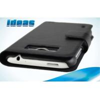 Buy cheap Black HTC Leather Phone Case Wallet for HTC Sensation XL X315e from wholesalers