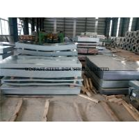 Buy cheap 22 Gauge Galvanized Sheet Metal High Strength Steel Plate SGCC Grade from wholesalers
