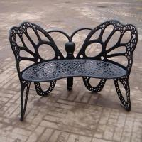 Buy cheap Eco - Friendly European Metal Garden Table And Chairs Ends For Hotel / Balcony from wholesalers