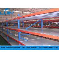 Warehouse Q235B Cold Roller Steel Heavy Duty Storage Racks with Steel Board