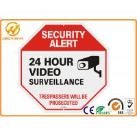 Buy cheap 24 Hour Video Surveillance Camera Sign Reflective Aluminum PlateTraffic Sign Board from wholesalers