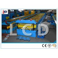 Buy cheap Galvanized Sheet Metal Deck Roll Forming Machine Low Noise High Precision from wholesalers