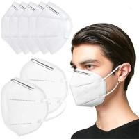 Buy cheap High Breathability KN95 5 Ply Face Mask Disposable Non Woven Face Mask product