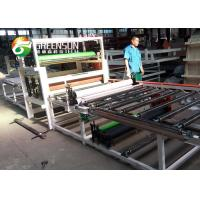 Buy cheap PVC / Aluminum Foil Laminated Gypsum Ceiling Tile Production Line With PLC Control System from wholesalers