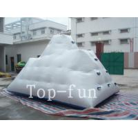 Buy cheap Backyard Inflatable Water Park Iceberg For Lake / River / Swimming Pools product