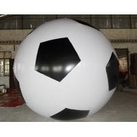 Buy cheap Inflatable advertising balloon / inflatable giant helium sphere / flying football balloon from wholesalers