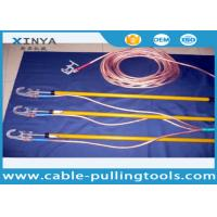 Buy cheap 110 KV Earthing Device Safety Tools Electrician 220KV With Copper Wire / Ground Clip from wholesalers