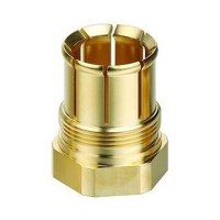 Buy cheap ISO9001 Deburring CNC Machining Brass Parts 0.01mm Tolerance from wholesalers