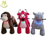 Buy cheap Hansel fairground kids motorized animal toy rides on plush motorized animals from wholesalers