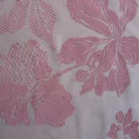 Buy cheap Double Flocking Fabric with Painting Design, Spreaded Gold Powder in Materials from wholesalers
