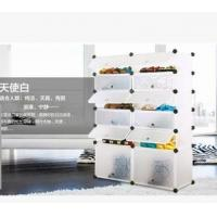 Buy cheap 6 tiers white PP DIY shoes cabinet shoes rack shlef from wholesalers
