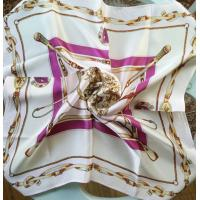 Buy cheap 55x55cm small Square silk scarf, silk neckwear, silk satin scarves product
