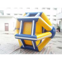 Buy cheap Outdoor Floating Inflatable Water Parks /  Water Running Machine Toys from wholesalers