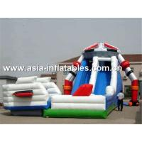 Buy cheap Creative Inflatable Slide In Robot Shape For Children Sliding Games from wholesalers