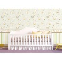 Custom Peelable Childrens Flower Wallpaper Decoration For Bedroom Wall