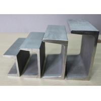 Buy cheap SGCC A36 SS400 Stainless Steel Channel Sections With Galvanized Surface from wholesalers