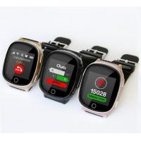 Buy cheap Heart Rate Monitor GPS Watch Tracker With Real Time Tracking SOS Fall Down Alarm from wholesalers