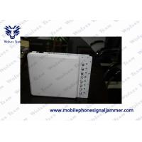 Buy cheap Adjustable 3G 4G Cell Phone Reception Blocker , High Power Mobile Jammer Air Pressure 86 - 106kPa from wholesalers