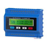 Buy cheap Grade Gas Ultrasonic Sensor Fuel Flow Meter , Lightweoght Portable Flow Meter from wholesalers