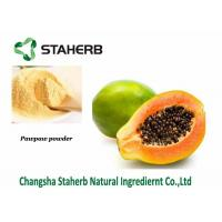 Buy cheap Papaya Extract Powder,Dehydrated Fruit Powder,Good For Spleen,Food additive,Drink from wholesalers