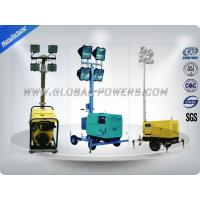 Buy cheap 4×400W Metal Lamps Diesel Generator Light Tower 5Kw Waterproof Weatherproof from wholesalers