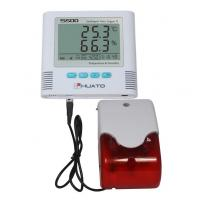 Buy cheap Sound Light Alarm  High Accuracy Temperature Humidity Data Logger HUATO S500-EX from wholesalers