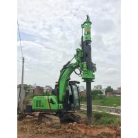 Buy cheap Small Rotary Piling Rig for Different Construction Stratum , Hydraulic Drilling Rig from wholesalers