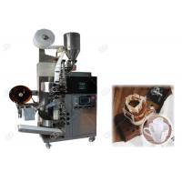 Buy cheap Three Sides Seal Drip Coffee Packing Machine , Automated Coffee Bagging Machine from wholesalers