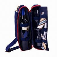 Buy cheap 600D Picnic Wine Bag for 2 Persons from wholesalers