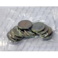 Buy cheap D10X1.5mm N35 Nickel plated ndfeb magnetic strong from wholesalers