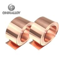 Buy cheap Thickness 0.5mm - 2mm Pure Copper Tape Purity 99.9 Cu% For Automotive Water Tank from wholesalers