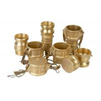 Buy cheap Camlock Hose Coupling Fittings Stainless Steel / Aluminum / Pp / Nylon / Brass Material from wholesalers