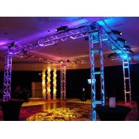 Buy cheap 250*250 MM Screw  Trade  Aluminum Square Truss For Exhibition Booth from wholesalers