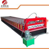 High Capacity Trapezoidal Sheet Roll Forming Machine For Color Steel Plate