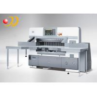 Buy cheap Automatic Paper Cutting Equipment , Double Hydraulic Paper Cutting Machinery from wholesalers