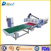 Buy cheap Intelligent ATC Furniture production line Wood Cutting/Drilling Solution CNC Router Machine from wholesalers